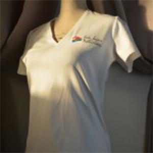 Tee shirt Femme col V
