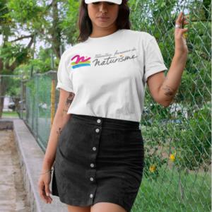 Tee shirt Mixte Col Rond Logo FFN Poitrine