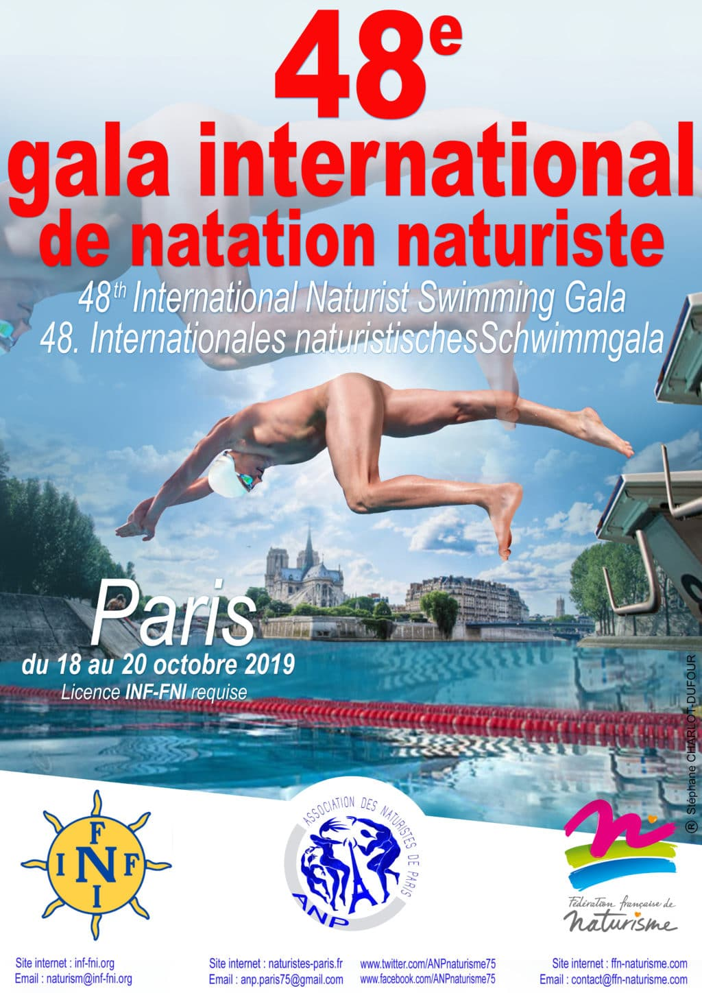 Gala international de natation naturiste 2019
