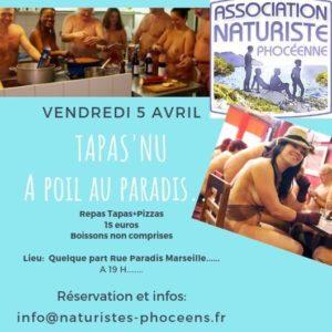 L'APN Marseille vous invite à un resto tapas