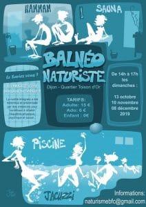 Les balnéos naturistes de Dijon en 2020.
