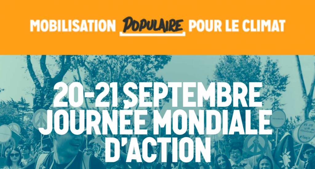Read more about the article ATTEINTE À LA LIBERTÉ DE MANIFESTER LE 8 SEPTEMBRE 2019 -Nus pour le climat, le 21 septembre 2019