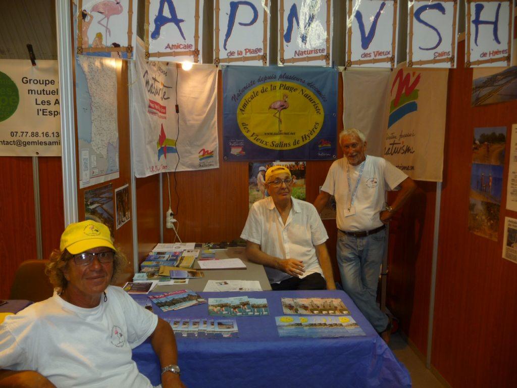 L'APNVSH au FORUM des Associations de HYERES